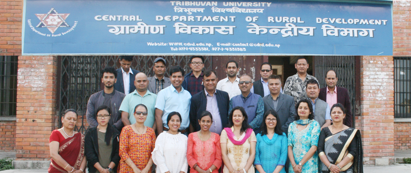 CDRD family at Department